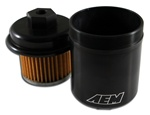 AEM High Volume Fuel Filter for the 1994-2001 Acura Integra RS, LS, GS, and GSR