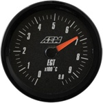 AEM Analog EGT Display Gauge (0°C to 980°C) - Black Face
