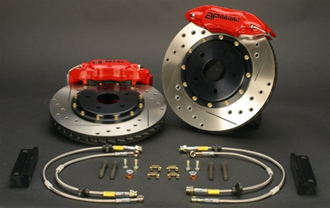 Brake Pros 4 Piston Caliper Upgrade Kit For The 2001 2006