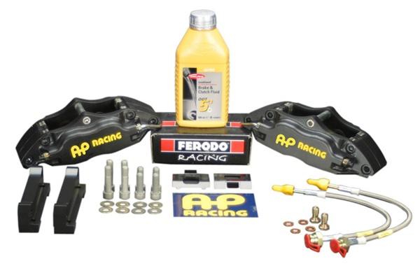 Ap Racing Formula 4 Piston Big Brake Kit For The 1998 2001