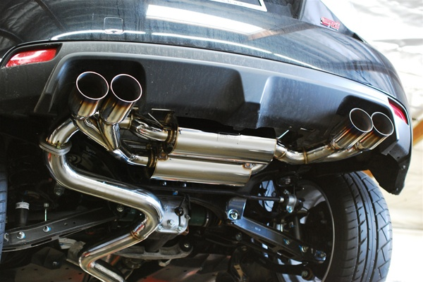 Mxp Performance T304 Stainless Catback Exhaust 2008 2012