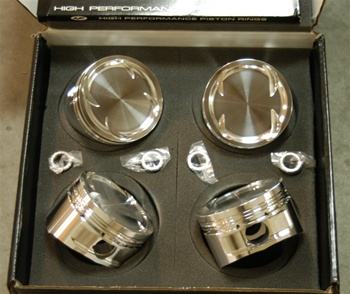 CP Pistons Forged Pistons Nissan SR20VE/VET 3.386 (86.0mm) Bore / STD Size / 9.0:1 Compression Ratio