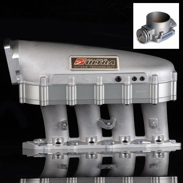 B16 Head Volume: Skunk2 Ultra Intake Manifold+90mm Throttle Body 90-01