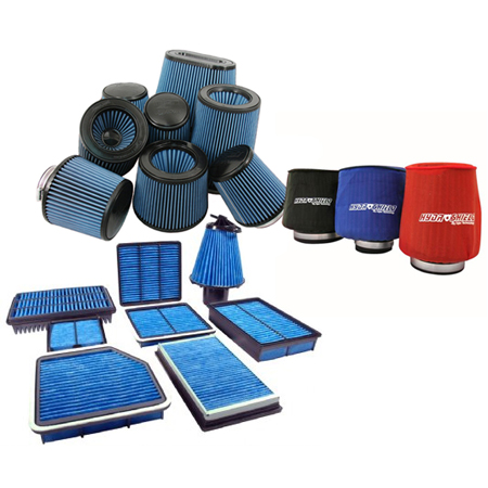 Cosworth Synthetic Air filters, Injen Ea Nanofiber air filters, Injen Hydroshield Pre-Filters