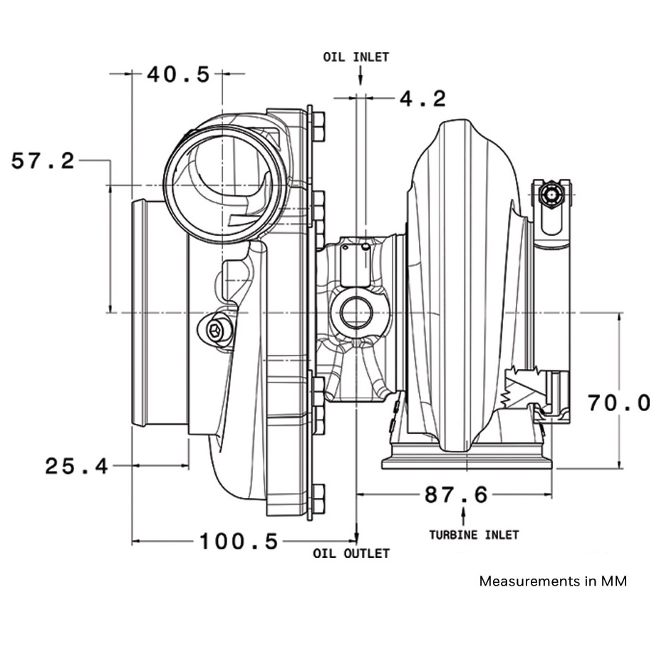 Garrett Gtx3076r Compressor Wheel Housing: Garrett GTX3076R GEN2 Turbocharger